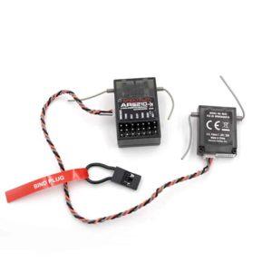 Spektrum-Empfänger AR6210, 6-Kanal, 2.4GHz DSM X, # SPMAR6210