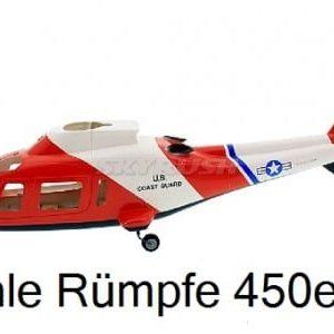 Scale Rümpfe 450er Mechanik