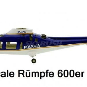 Scale Rümpfe 600er Mechanik