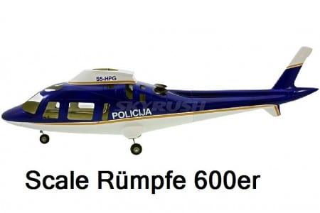 Scale Rümpfe 600er Mechanik