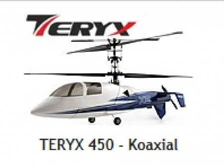 TERYX 450 Koaxial