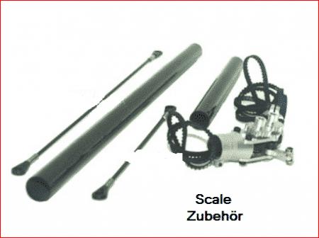 Zubehör für Scale Rumpfbausätze