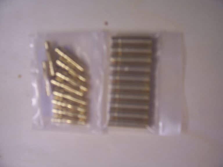 Goldkontakte 4mm 10 paar