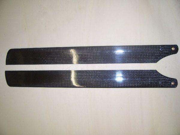Hauptrotorblätter Carbon schwarz T Rex 450 325mm