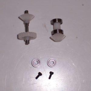 vorderes Heckrotorgetriebe ohne Kugellager T Rex 450 HKH 450