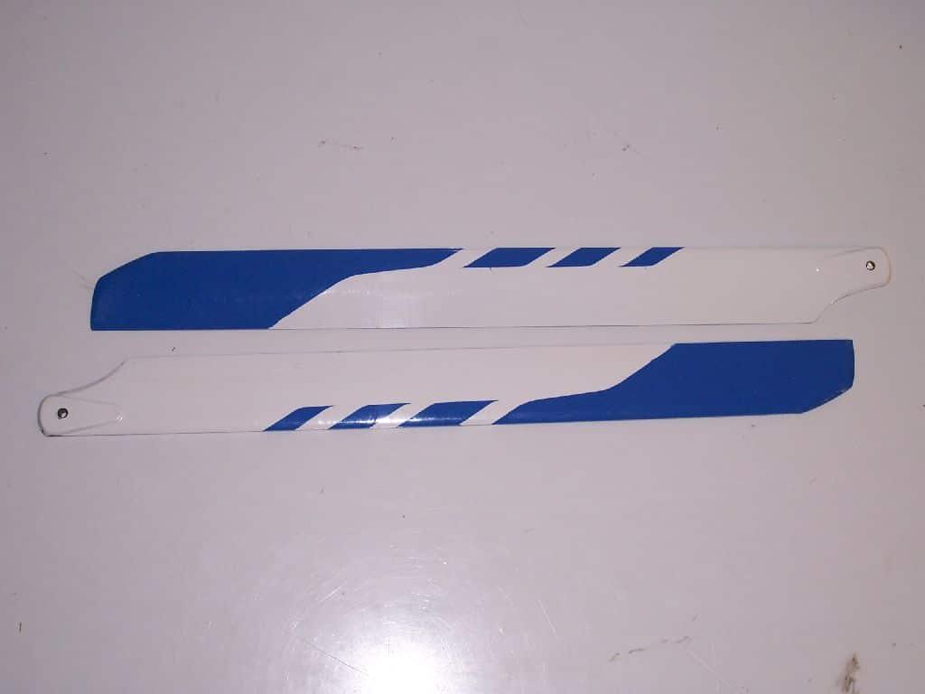 Hauptrotorblätter GFK blau T Rex 450 325mm