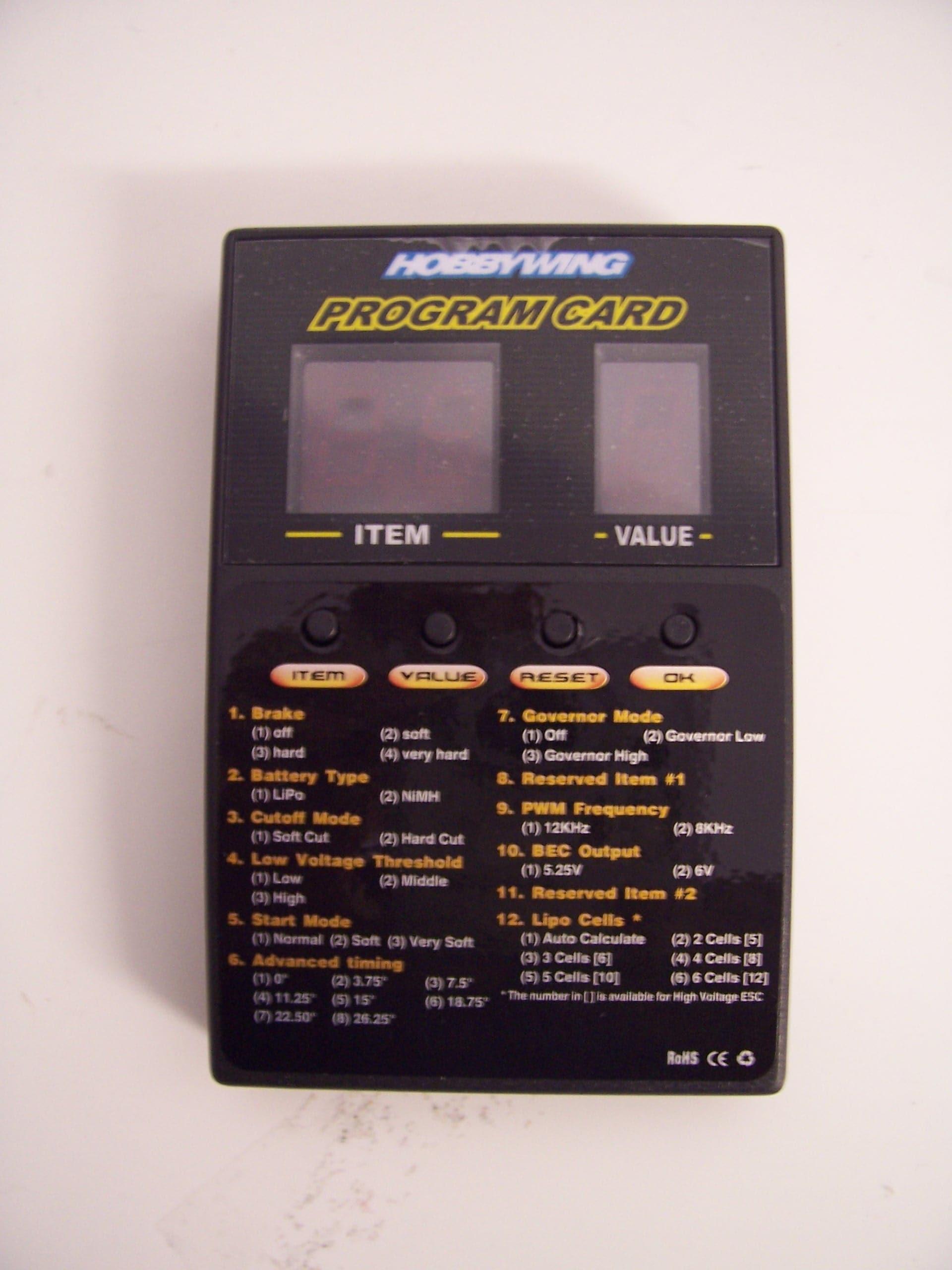 Programm Card LED Platinium Serie