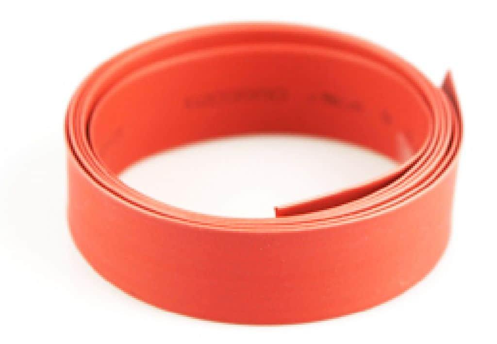 Schrumpfschlauch Yuki rot 10mm 1m lang