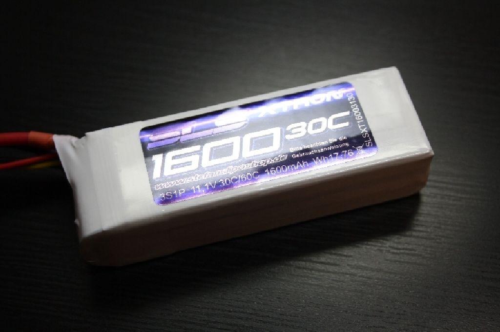 SLS XTRON 1600mAh 3S1P 11,1V 30C/60C