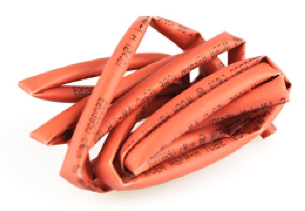 Schrumpfschlauch Yuki rot 4mm 1 m lang