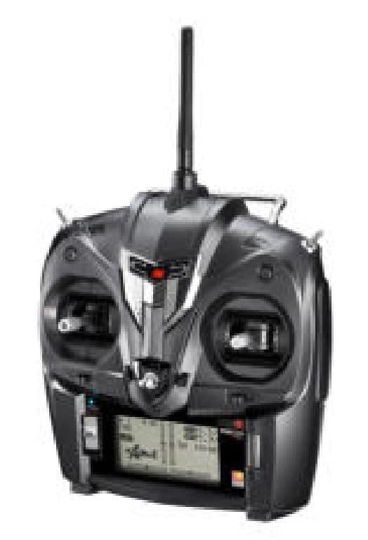 XG6 Sender DMSS TL 2.4 GHz schwarz mit Empfänger RG631