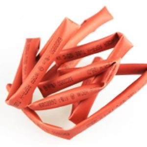 Schrumpfschlauch Yuki rot 6mm 1 m lang