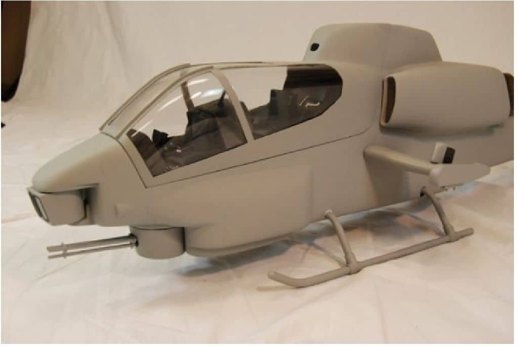 Roban Scale Rumpf Bell AH-1 Cobra