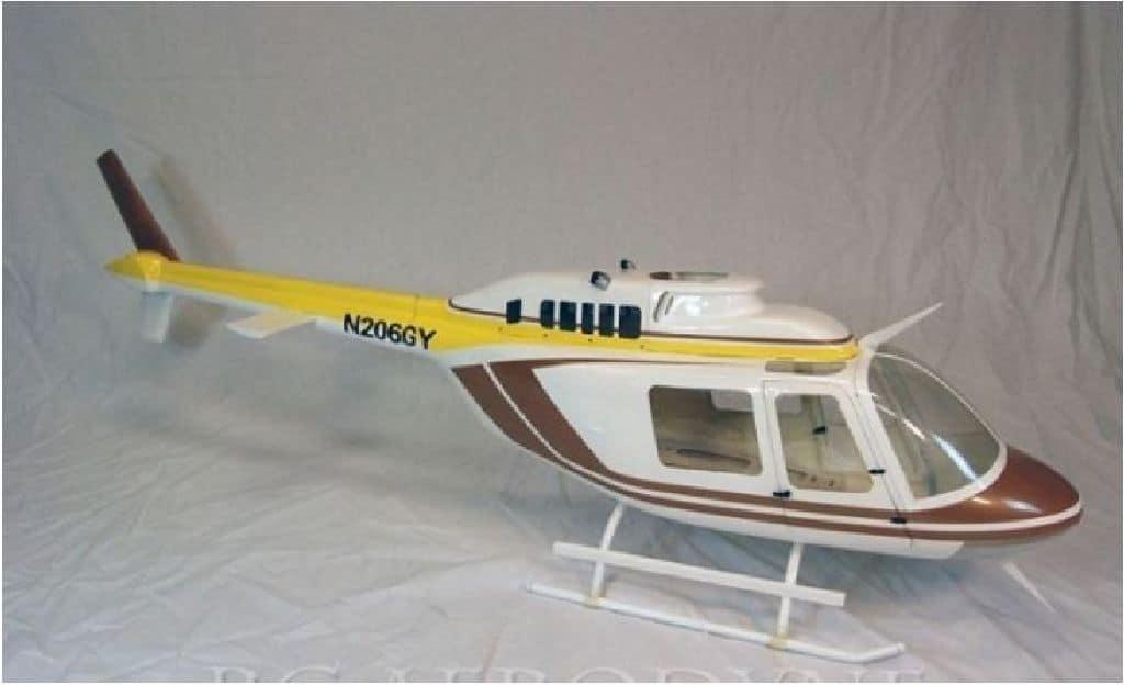 Scale Rumpf Bell 206 Jet Ranger