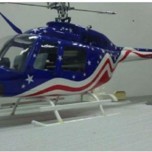 Bell 206 Jet Ranger in der Stars and Stripes Sonderedition
