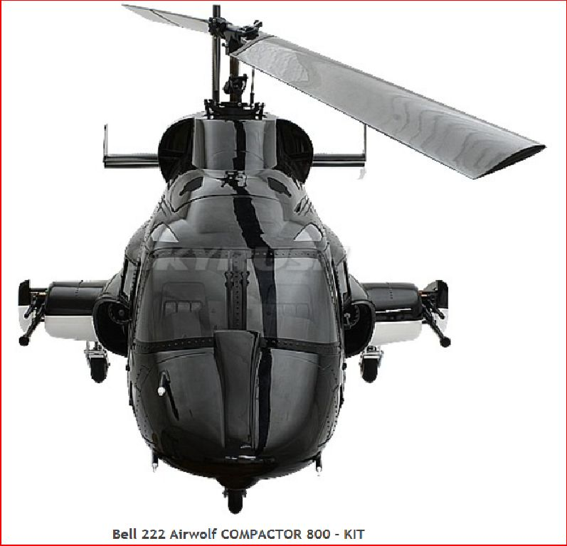 Roban Superscale Bell 222 Airwolf 800er