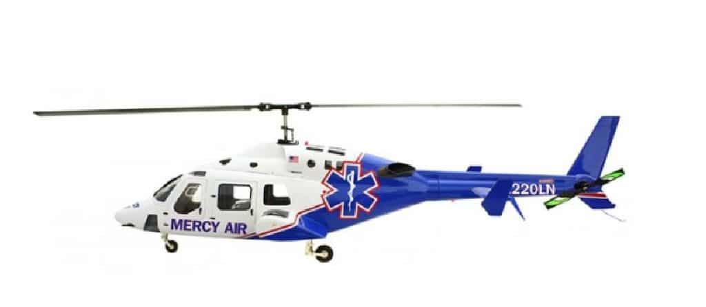 Roban Super Scale Bell 429 700er Merci Flight