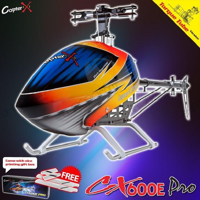 T Rex CopterX CX 600E Pro Flybarless Torque Tube