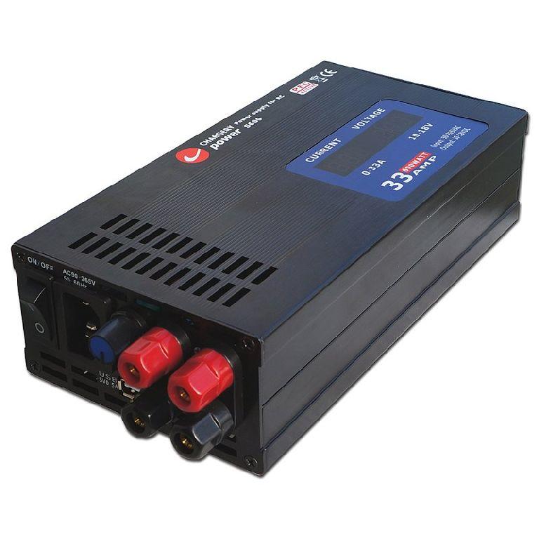 Chargery S600 kompakt Schaltnetzteil 10-18V 33A 600W - V2