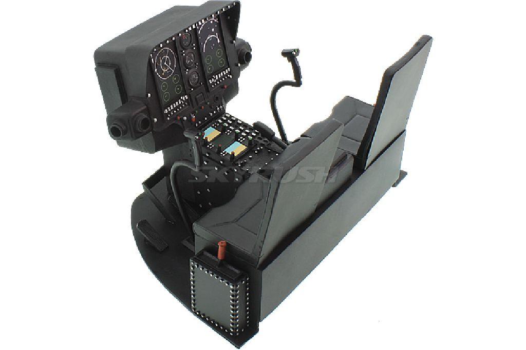 Cockpit mit Piloten für MD 500 700er Scale.