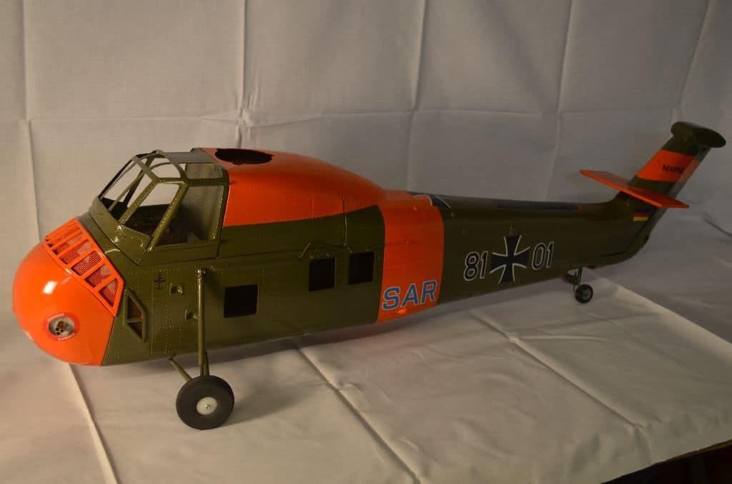 Scale Rumpf Sikorsky H34 (nur auf Bestellung)