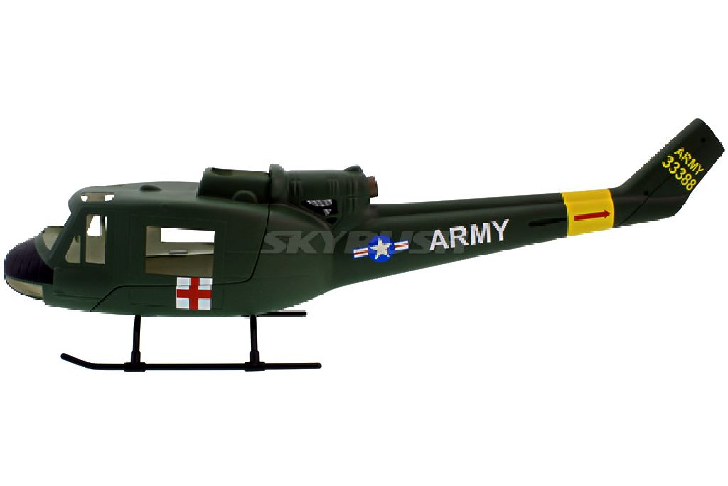 Scale Rumpf Roban  Bell UH-1 Military