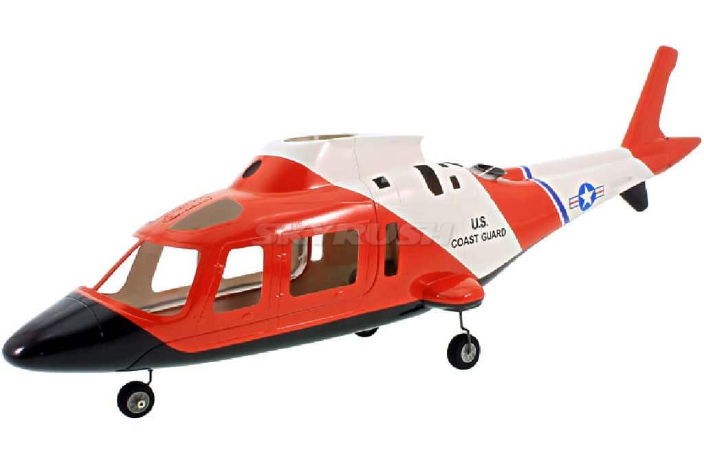 Scale Rumpf Augusta A109 Coast Guard