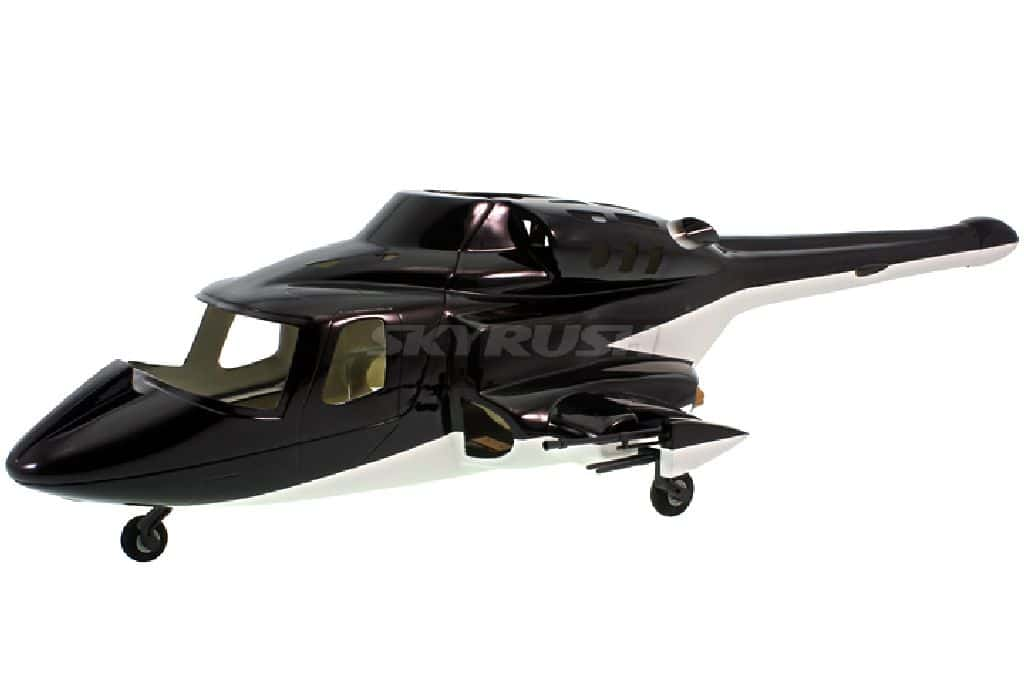 Roban Scale Rumpf Bell 222 Airwolf