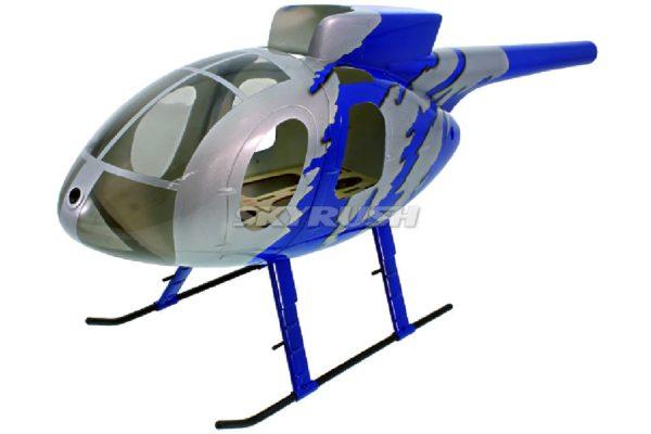 Roban Scale Rumpf  Hughes MD 500E G-jive Blue