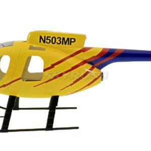 Roban Scale Rumpf  Hughes MD 500E Yellow