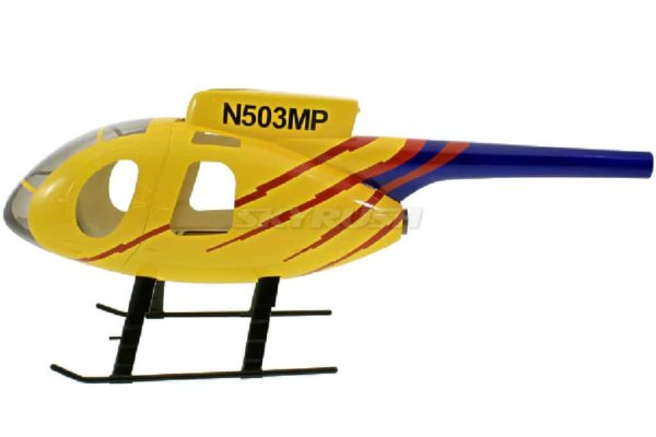 Roban Scale Rumpf  Hughes MD 500E Yellow