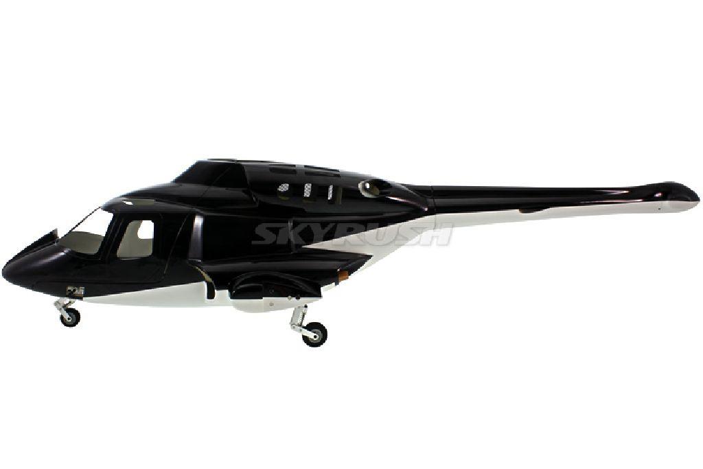 Scale Rumpf Roban Bell 222 Airwolf