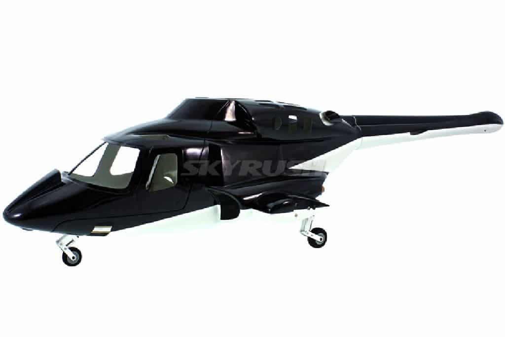 Scale Rumpf Roban Bell 222 Airwolf