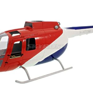 Scale Rumpf Roban BO-105 Red/Blue