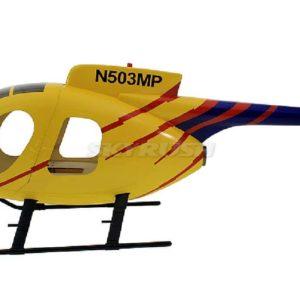 Scale Rumpf Roban MD500E Gelb/Blau