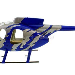 Scale Rumpf  Roban MD 500E GJive blue