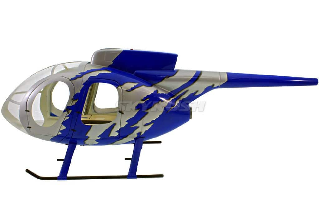 Scale Rumpf Roban MD 500E GJive blue