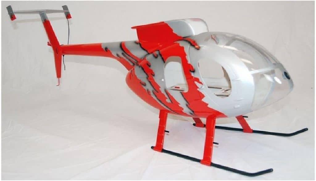 Roban Scale Rumpf Hughes MD 500E G-jive red