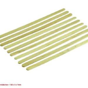 Holzrührstäbchen 10 Stück Stückpreis 0,10cent