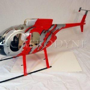 Scale Rumpf Roban MD500E GJive Red