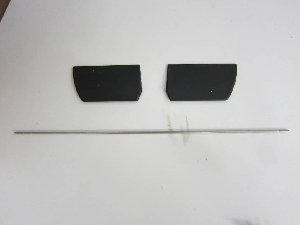 Paddelstange mit Kunststoffpaddel
