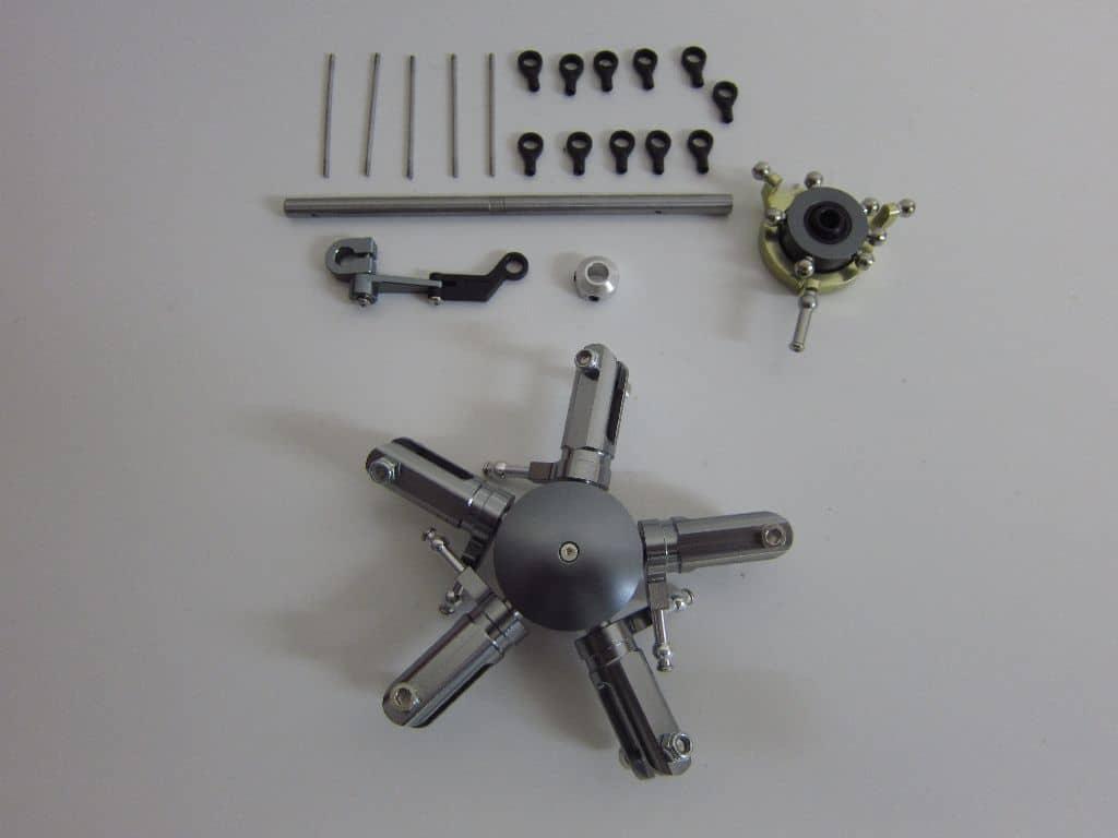 5 Blatt Scale Rotorkopf für 450er Hubschrauber