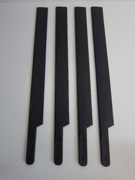 Scale Rotorblätter 450 Heli 4 Blatt Set 320er Kunststoff