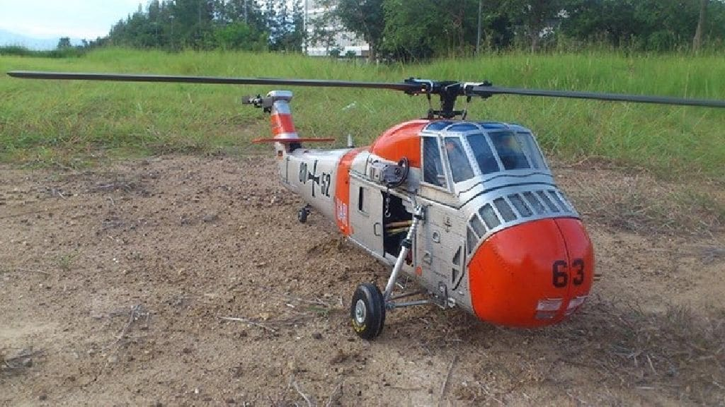 Scale Rumpf Sikorsky H34 SAR Germany