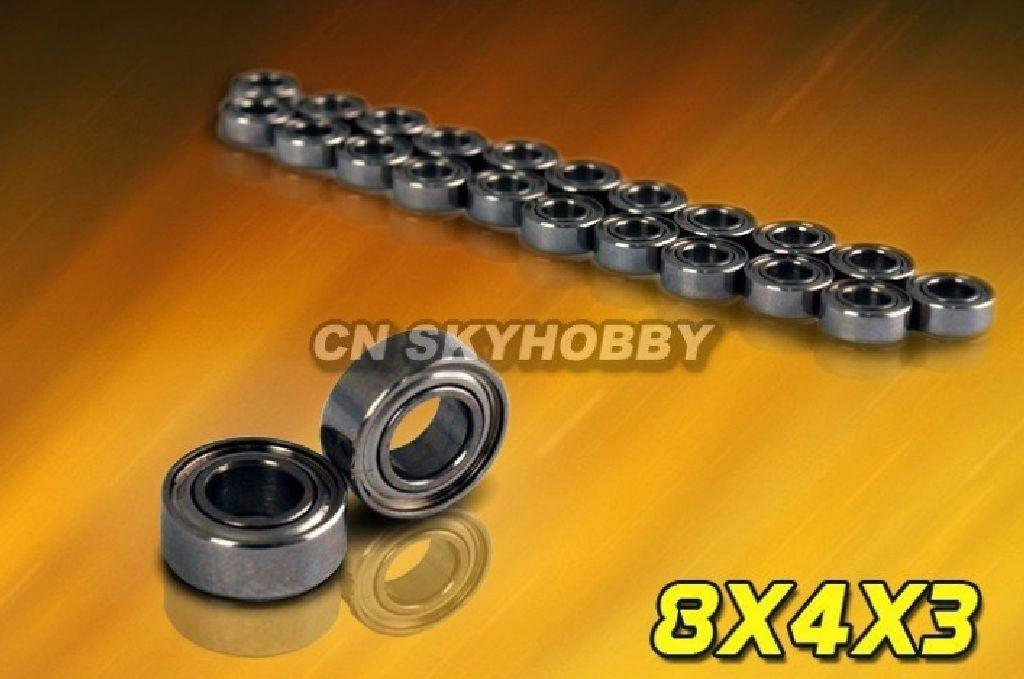 Kugellager für Brushlessmotoren MR84ZZ 8x4x3 mm