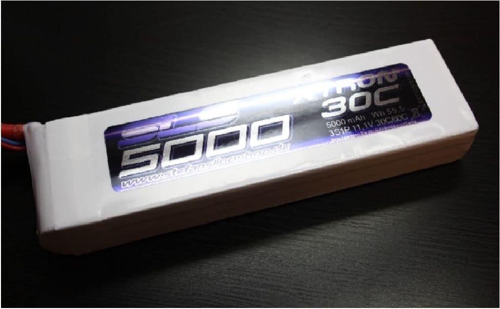 SLS XTRON 5000mAh 6S1P 22,2V 30C/60C