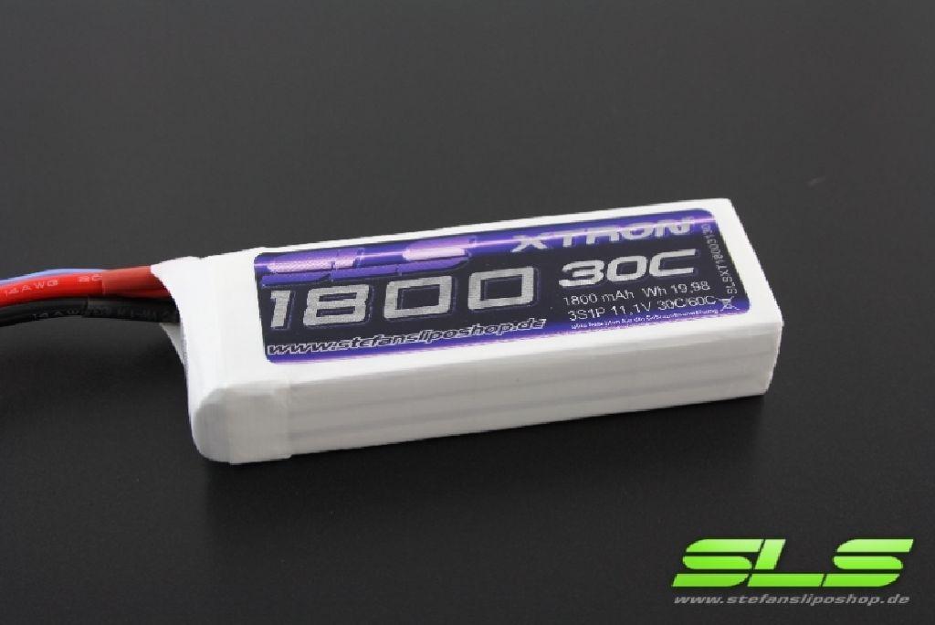 SLS XTRON 1800mAh 6S1P 22,2V 30C/60C