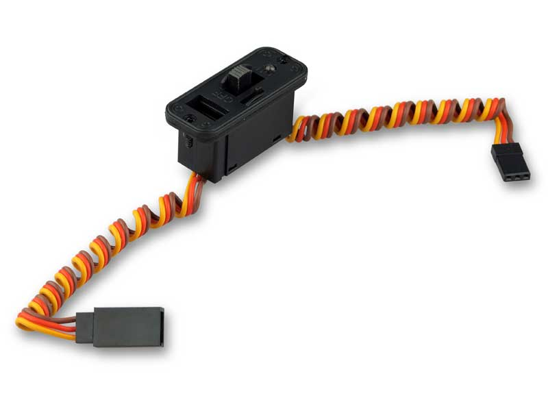 Schalterkabel • YUKI MODEL • kompatibel mit JR • LED • Ladeanschluss