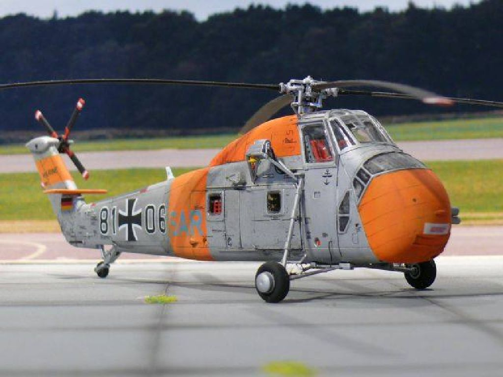 Scale Rumpf Sikorsky H34 SAR Germany