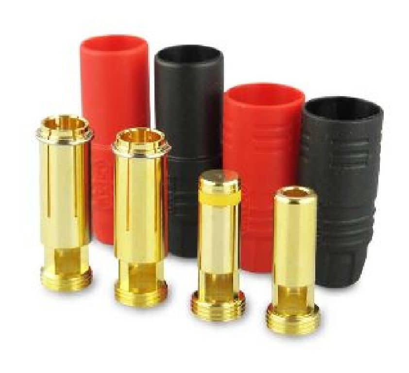 Yukiking Goldkontakte 7,0mm Anti Spark Buchse